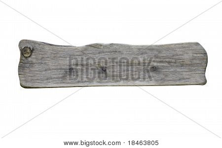 Wooden Sign Background Message