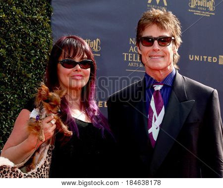 LOS ANGELES - APR 28:  Prince, Devin DeVasquez, Ronn Moss at the 2017 Creative Daytime Emmy Awards at the Pasadena Civic Auditorium on April 28, 2017 in Pasadena, CA