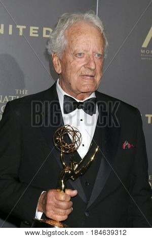 LOS ANGELES - APR 29:  Nicolas Coster at the 2017 Creative Daytime Emmy Awards at the Pasadena Civic Auditorium on April 29, 2017 in Pasadena, CA