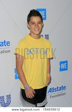 LOS ANGELES - APR 27:  Ezra Frech at the We Day California 2017 at The Forum on April 27, 2017 in Inglewood, CA
