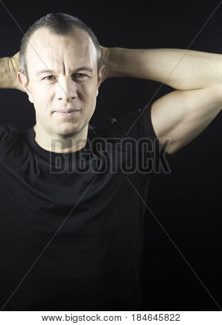 Attractive Man In 40S