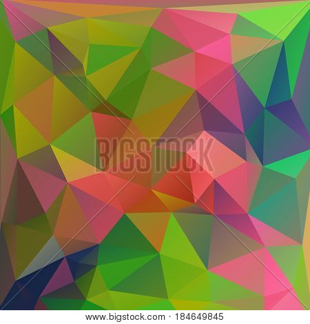 Colored Modern Polygonal Background