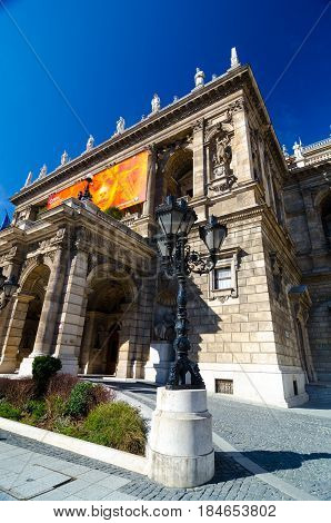 Hungarian State Opera House Is A Neo-renaissance Opera House Located In Budapest