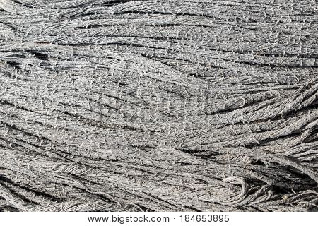 Dirty dark fabric cotton mob or swab texture background