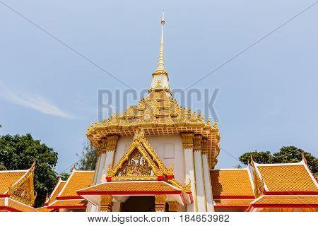 Huai Mongkol temple (Wat Huai Mongkol) Hua Hin Prajuabkirikhan Thailand.