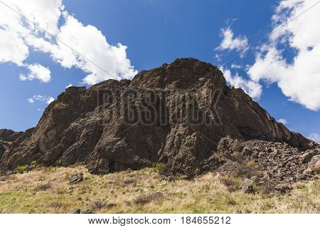 Rock Formations Under Blue Sky