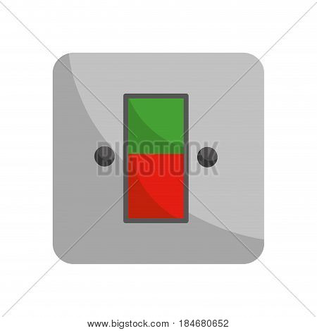 energy switch and push buttons, vector illustration design
