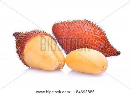 salak fruitsalacca zalacca isolated on white background