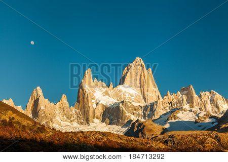 Autumn in Patagonia. Fitz Roy, Argentina Patagonia