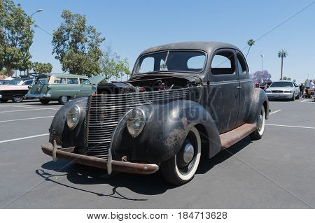 Ford Hot Rod 1940 On Display