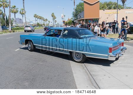 Lincoln Continental On Display