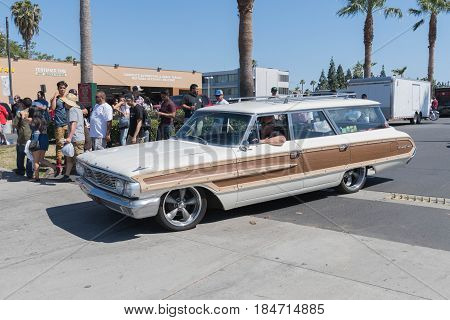 Ford Country Squire On Display