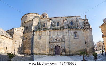 Sacred chapel of the Savior (Capilla del Salvador) Ubeda Jaen Spain