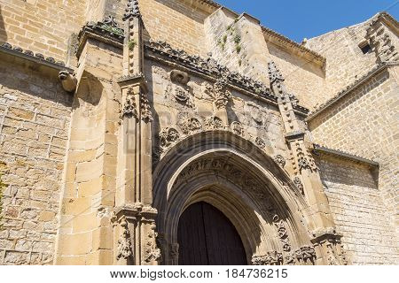 Parish of San Isidoro Ubeda Jaen Spain