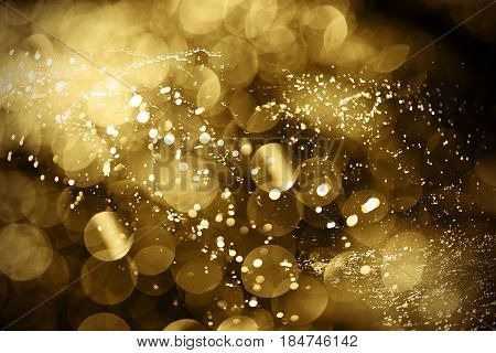 De-focused abstract background of water splashes, good background