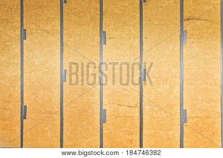 Wall covered with rock wool, good background