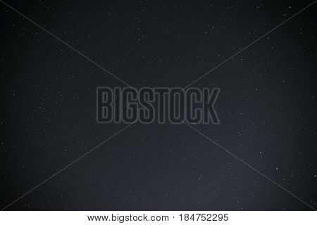 Beautiful Milky Way On A Dark Night Sky With Stars