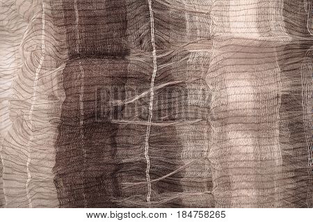 Thin Brown Fabric