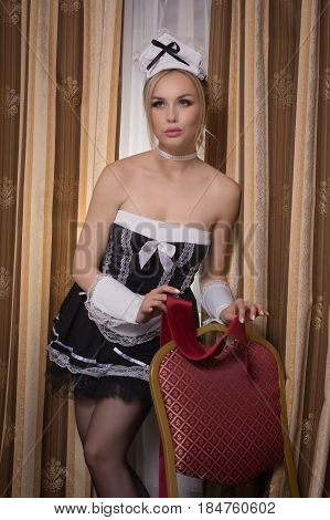 Young Sexy Chambermaid