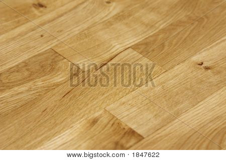Close Up Of Oak Floor