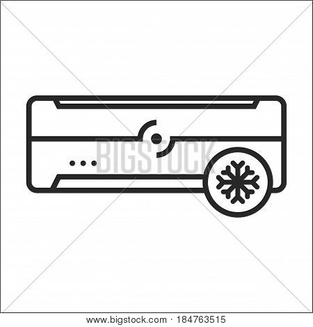 Air Conditioner Cold Mode Vector Icon