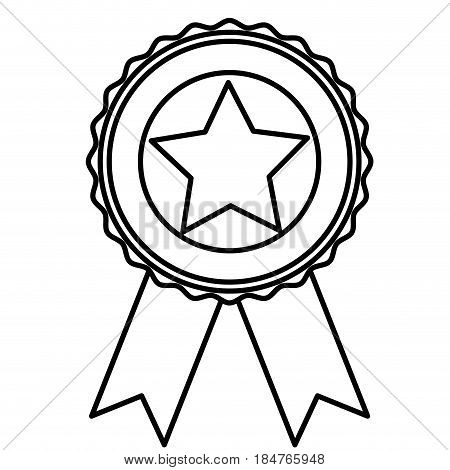 Usa star inside seal stamp icon. United nation country and american states theme. Isolated design. Vector illustration