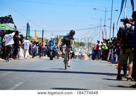 Tour du Senegal 2017 from Dakar to Dakar 8 Stages WInner Islam Mansouri.