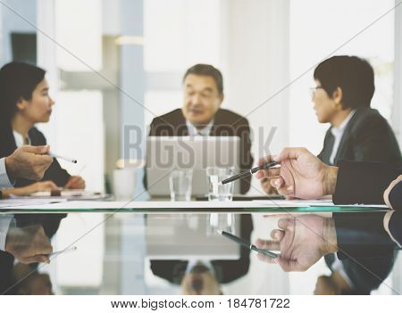 Business Discussion Meeting Presentation Briefing