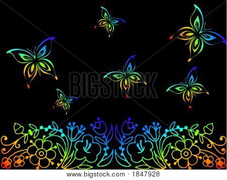 Butterfly Sceneiii.Eps