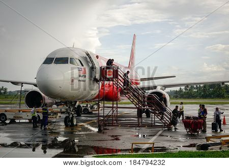 International Airport In Kalibo, Philippines