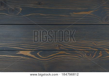 Brown background with vintage wooden texture horizontal top view blackdrop of rustic board space background mock up
