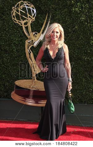 PASADENA - APR 28: Patricia DiMango at the 44th Daytime Creative Arts Emmy Awards Gala at the Pasadena Civic Centerl on April 28, 2017 in Pasadena, California
