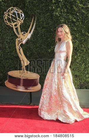 PASADENA - APR 28: Taylor Stanley at the 44th Daytime Creative Arts Emmy Awards Gala at the Pasadena Civic Centerl on April 28, 2017 in Pasadena, California