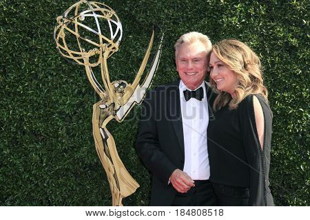 PASADENA - APR 28: Pat Sajak at the 44th Daytime Creative Arts Emmy Awards Gala at the Pasadena Civic Centerl on April 28, 2017 in Pasadena, California