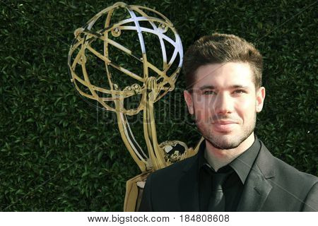 PASADENA - APR 28: Krystos Andrews at the 44th Daytime Creative Arts Emmy Awards Gala at the Pasadena Civic Center on April 28, 2017 in Pasadena, California