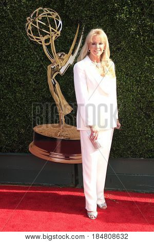 PASADENA - APR 28: Laura McKenzie at the 44th Daytime Creative Arts Emmy Awards Gala at the Pasadena Civic Center on April 28, 2017 in Pasadena, California