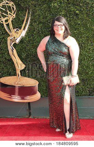 PASADENA - APR 28: Joyce Bentzman at the 44th Daytime Creative Arts Emmy Awards Gala at the Pasadena Civic Center  on April 28, 2017 in Pasadena, California