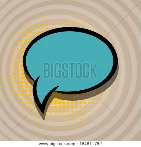 Empty comics book burst balloon. Blank speech bubble icon for phrase. Cartoon comic funny box label tag expression. Comic text sound effects. Banner vector illustration.