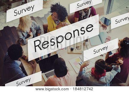 Diverse People Response Comment