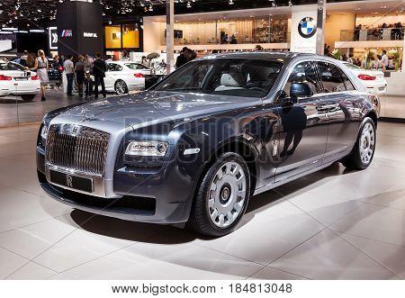 International Automobile Salon 2012