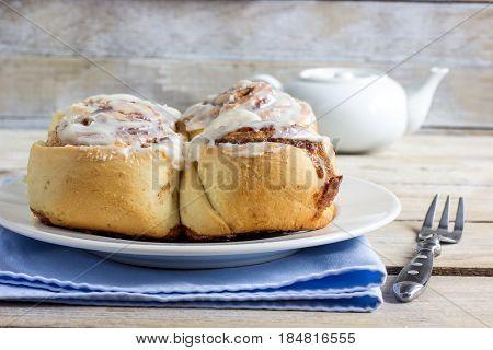Freshly Baked Cinnamon Buns