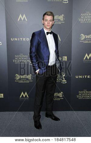 PASADENA - APR 28: Chad Duell at the 44th Daytime Creative Arts Emmy Awards Gala at the Pasadena Civic Center on April 28, 2017 in Pasadena, CA