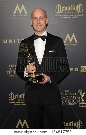 PASADENA - APR 28: Mike Chaffe at the 44th Daytime Creative Arts Emmy Awards Gala at the Pasadena Civic Center on April 28, 2017 in Pasadena, CA
