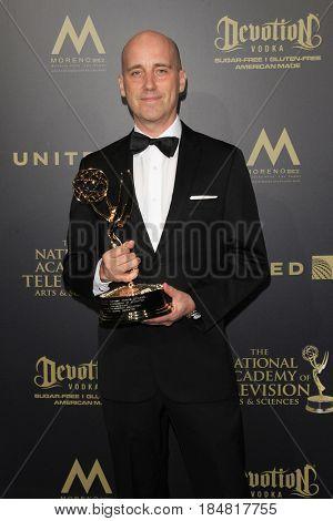 PASADENA - APR 28: Mike Chaffe at the 44th Daytime Creative Arts Emmy Awards Gala at the Pasadena Civic Center on April 28, 2017 in Pasadena, CA