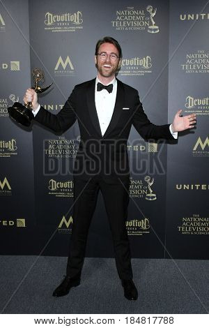 PASADENA - APR 28: John Carlson at the 44th Daytime Creative Arts Emmy Awards Gala at the Pasadena Civic Center on April 28, 2017 in Pasadena, CA