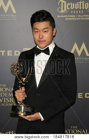 PASADENA - APR 28: Eastwood Wong at the 44th Daytime Creative Arts Emmy Awards Gala at the Pasadena Civic Center on April 28, 2017 in Pasadena, CA