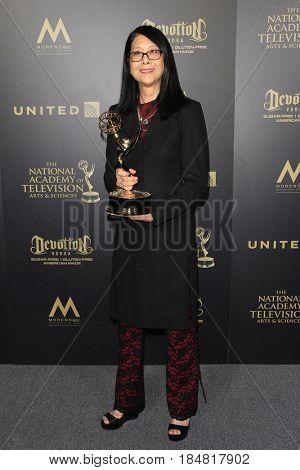 PASADENA - APR 28: Christine Lai-Johnson at the 44th Daytime Creative Arts Emmy Awards Gala at the Pasadena Civic Center on April 28, 2017 in Pasadena, CA