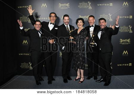 PASADENA - APR 28: Outstanding Single Camera Editing, Eat the World with Emeril Lagasse, 44th Daytime Creative Arts Emmy Awards Gala at the Pasadena Civic Center on April 28, 2017 in Pasadena, CA