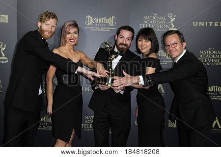 PASADENA - APR 28: Outstanding Main Title and Graphic Design, The Mind of a Chef at the 44th Daytime Creative Arts Emmy Awards Gala at the Pasadena Civic Center on April 28, 2017 in Pasadena, CA