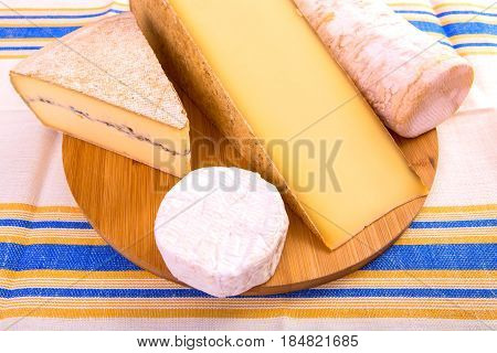 Selection On French Cheeses